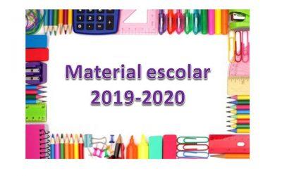 Material escolar 2019