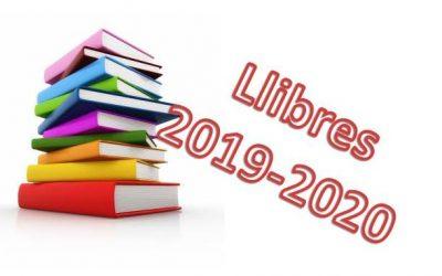 Llibres 2019-2020