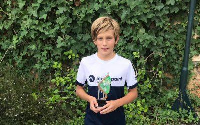 Angel Albalat Eslava de 1r d'ESO va guanyar es torneig de San Cayetano alevin de sa Federació de Tennis de ses Illes Balears. Enhorabona.