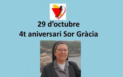 4t aniversari Sor Gràcia