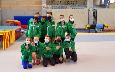 Nuestras alumnas han participado en el campeonato balear escolar por equipos de gimnasia artística.