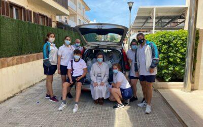 Avui hem fet un segon lliurament de menjar i material de neteja a Càritas Alcúdia amb més de 400 kg. Moltes gràcies a tots per la vostra ajuda.