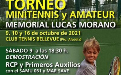 TORNEO MINITENNIS Y AMATEUR MEMORIAL LUCAS MORANO FERNÁNDEZ