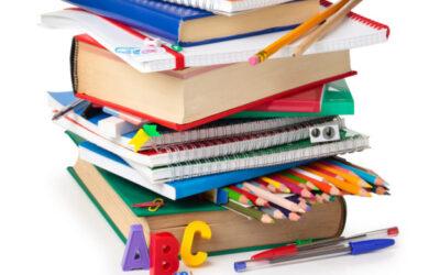 Beques de llibres de text i/o material escolar. Del 22 d'octubre al 12 de novembre.